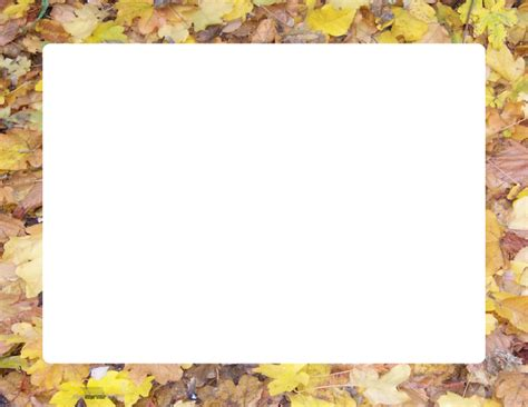 Marcos de hojas para imprimir   Imagui
