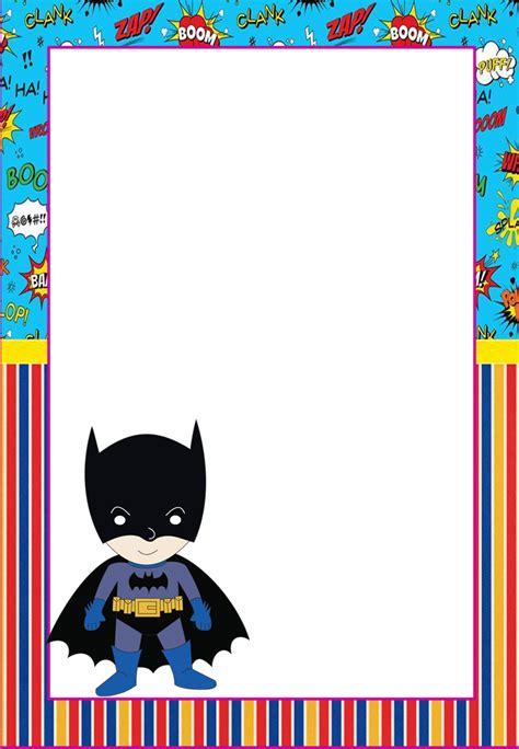 Marcos, Invitaciones, Tarjetas o Etiquetas de Batman para ...