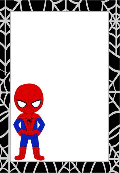 Marcos, Invitaciones, Tarjetas o Etiquetas de Spiderman ...
