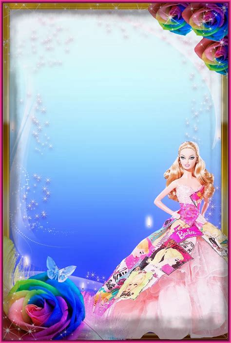 Marcos para Fotos de Barbie para tus Diseños.   Fotos de ...