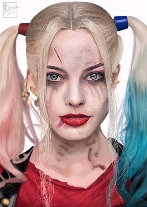 Margot Robbie as Harley Quinn by Mayank94214 on DeviantArt