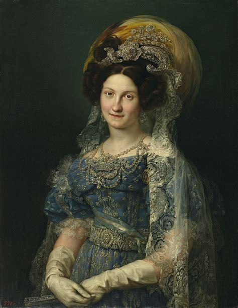 María Cristina de Borbón Dos Sicilias   Wikipedia, la ...