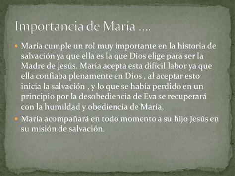 María en la historia de salvación