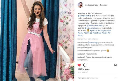 María Jesús Ruiz da una alegría a los estilistas de Cámbiame