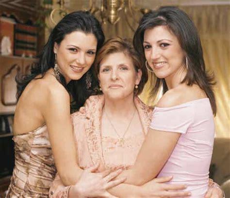 María Jesús Ruiz, Miss España 2004, posa en familia en su ...