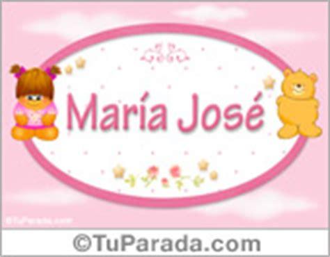 María José, significado del nombre María José, nombres y ...