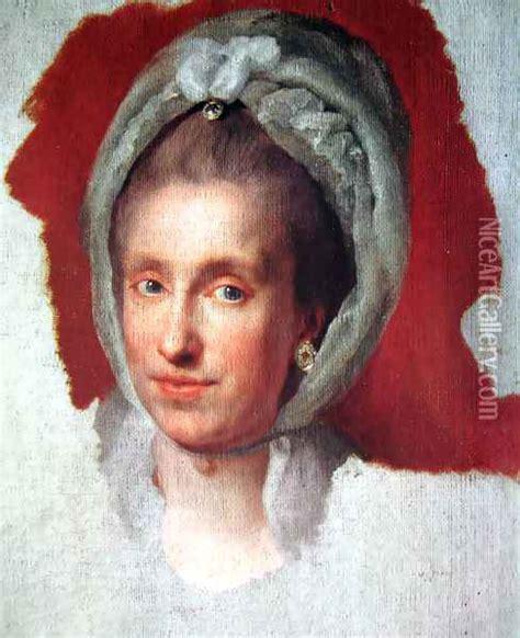 Maria Luisa de Borbon oil painting reproduction by Anton ...
