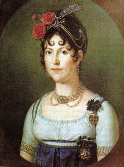 María Luisa de España o María Luisa de Borbón  La Granja ...