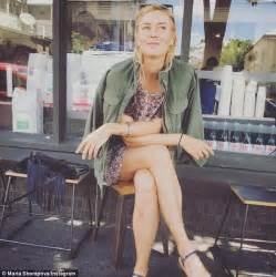 Maria Sharapova's Instagram post outside King Arthur ...