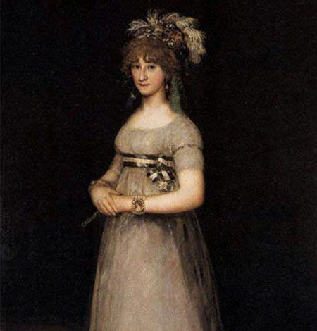María y Luisa de Borbón y Vallabriga  1783–1846 , duquesa ...