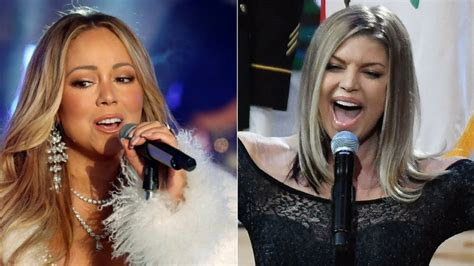 Mariah Carey gives Fergie advice after disastrous national ...