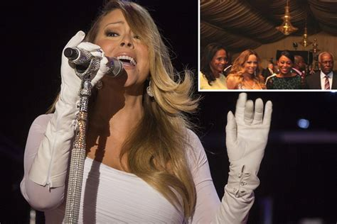 Mariah paid $1M 'to sing for Angola dictator' | Page Six