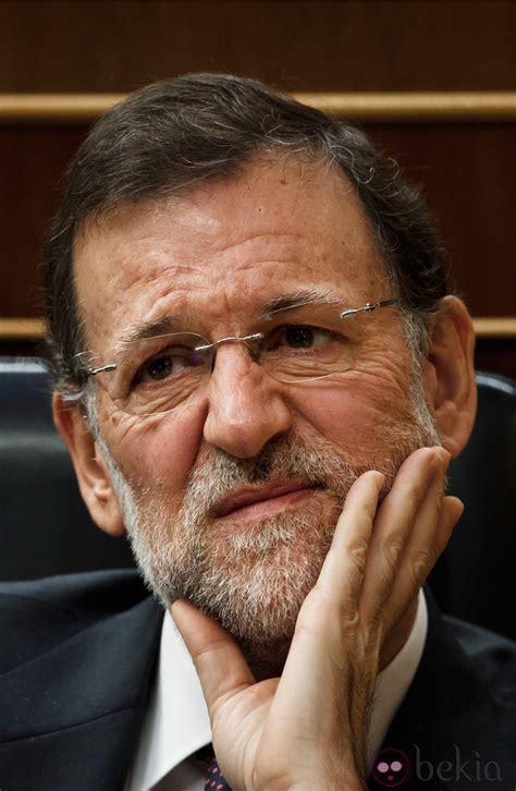 Mariano Rajoy con cara de preocupación - Las caras de ...