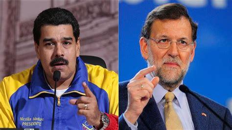 Mariano Rajoy es bandido, corrupto y ladrón dice Maduro ...