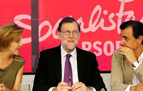 Mariano Rajoy se presentará a las primarias del PSOE | El ...
