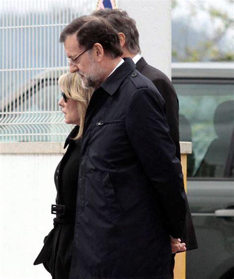 Mariano Rajoy, triste último adiós a su hermano Luis en ...