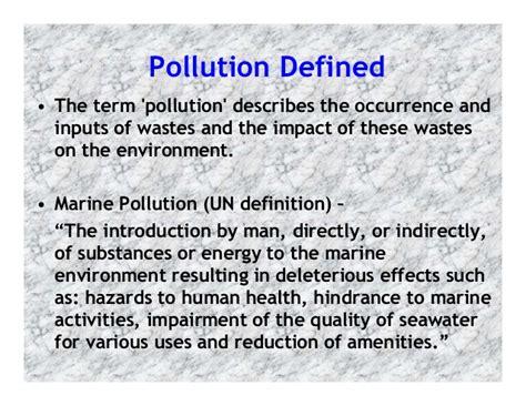 Marine pollution 3