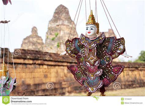 Marioneta En El Angkor, Camboya Imagen de archivo   Imagen ...