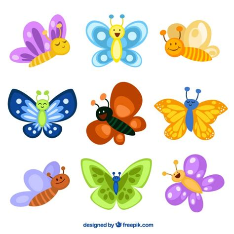 Mariposas Animadas De Colores Related Keywords - Mariposas ...