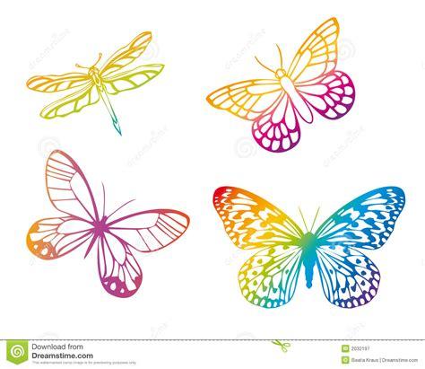 Mariposas Coloridas Fotografía de archivo libre de ...