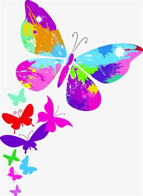 Mariposas De Colores Dibujos | www.pixshark.com - Images ...