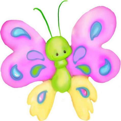Mariposas de colores para imprimir