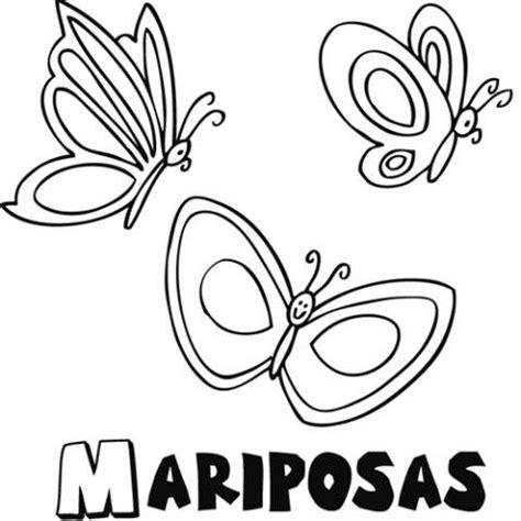 Mariposas: Dibujos para colorear