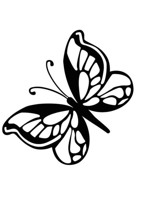 Mariposas Grandes para Colorear e Imprimir | Mariposas ...