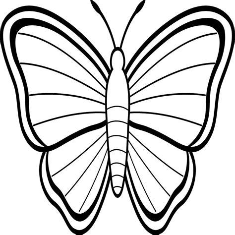 Mariposas Grandes Para Colorear E Imprimir ...