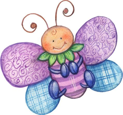 Mariposas infantiles para imprimir