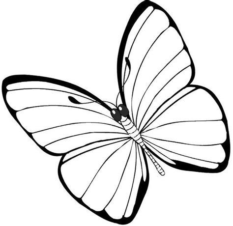 Mariposas para Colorear Bonitas y Grandes