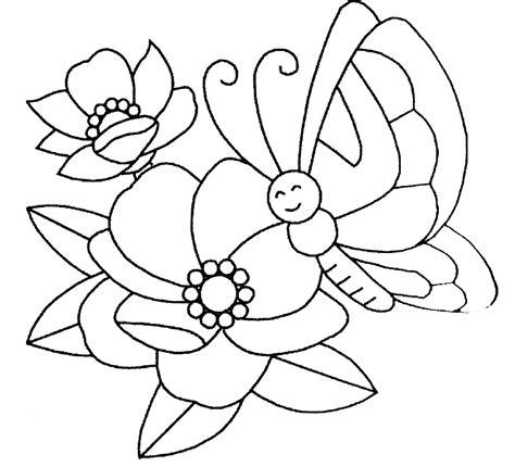 Mariposas para Colorear Infantiles Sencillas | Mariposas ...