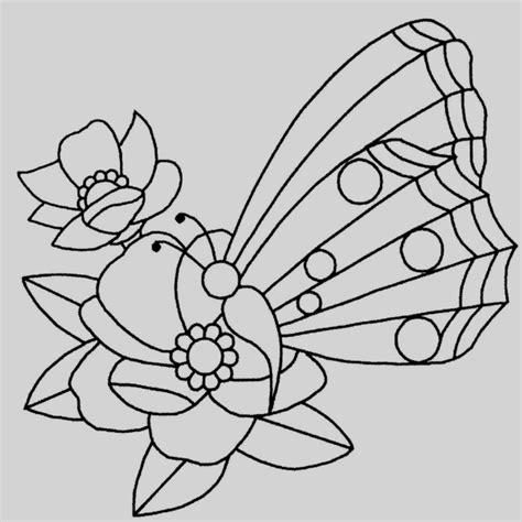 Mariposas Para Colorear Infantiles Sencillas - Mariposas ...
