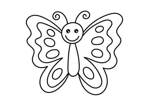 Mariposas para Colorear o Dibujar   Mariposas de Colores
