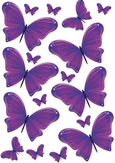 Mariposas para decorar la pared con forma de corazón