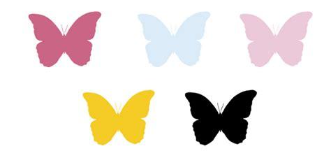 Mariposas para decorar paredes para imprimir - Imagui