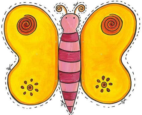 Mariposas para imprimir y recortar gratis