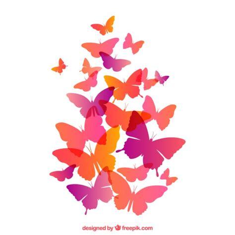 Mariposas volando | Descargar Vectores gratis