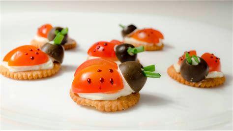 Mariquita Snack - Receta para los Niños - Ladybugs para ...