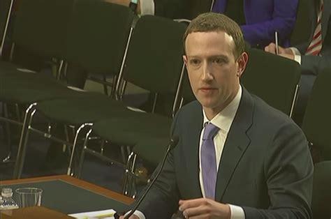 Mark Zuckerberg acepta que su comparecencia ante el ...