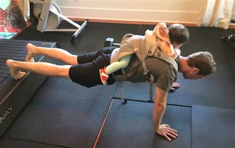 Mark Zuckerberg Does Pull-Ups with Daughter Max