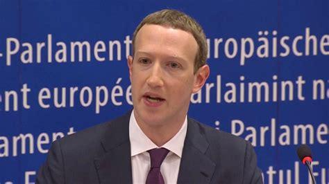 Mark Zuckerberg: Facebook-Chef entschuldigt sich bei EU ...