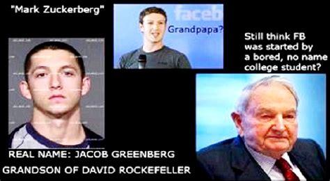 Mark Zuckerberg is David Rockefeller's Grandson I Thought ...