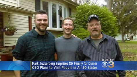 Mark Zuckerberg Surprises Ohio Family For Dinner « CBS Philly