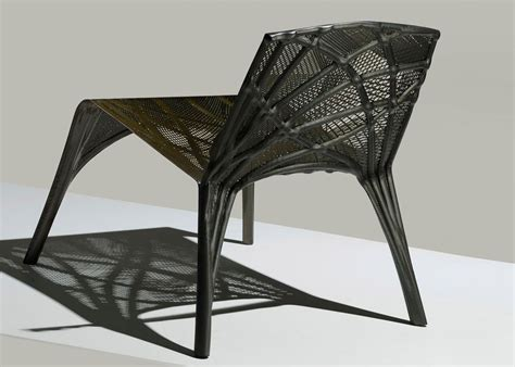 Marleen Kaptein uses robots to weave carbon fibre chair ...