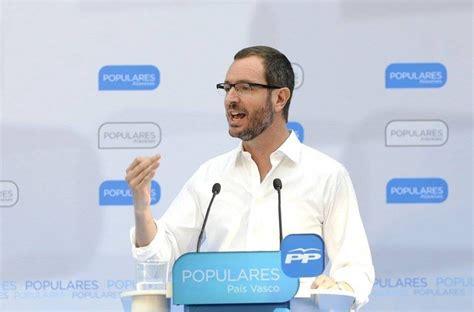 Maroto (PP Vitoria): «Esta es la cruda realidad; el PNV ha ...