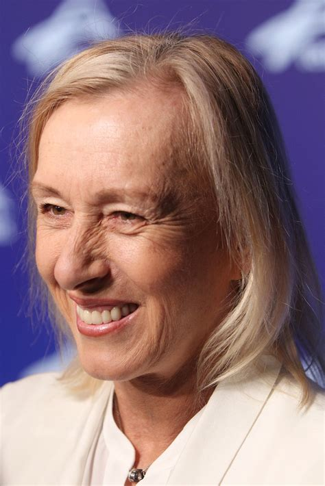 Martina Navratilova in Off Court at the 2017 Australian ...