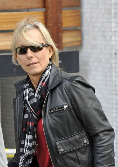 Martina Navratilova Photos Photos - Martina Navratilova at ...