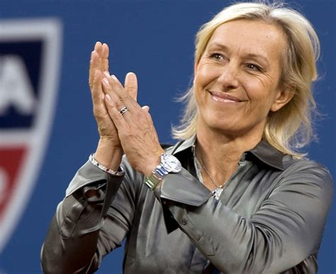 Martina Navratilova-Tennis Legend Human Rights activist