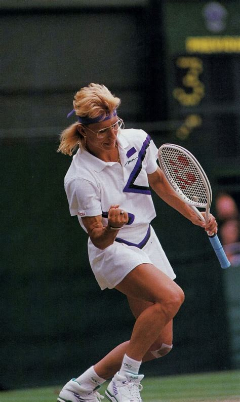 Martina Navratilova won her record breaking ninth ...